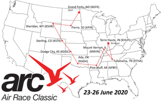 Air Race 2020 Route
